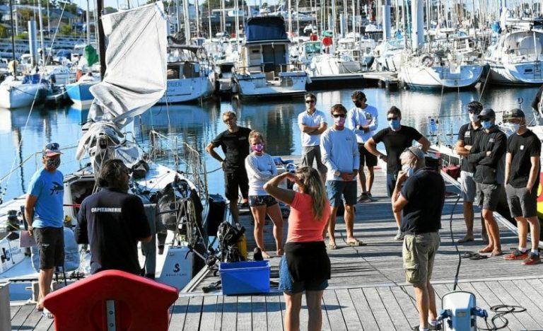 Reprise des entrainements pour le Pôle Finistère Course au Large