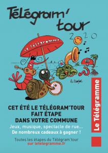 Le Télégram'Tour coordonné par Rivacom Events, l'agence de communication événementielle bretonne