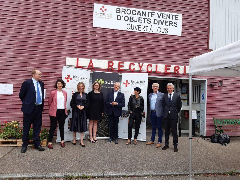 Suez, visite atelier de production - Rivacom agence communication bretonne