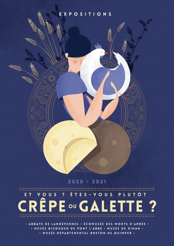 Crêpe ou galette expositions - Rivacom agence communication bretonne