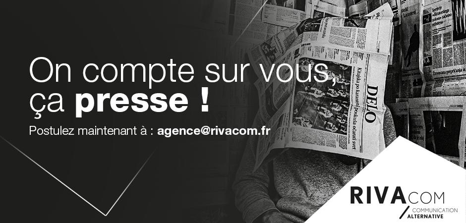 Rivacom Rennes recrute un(e) Attaché(e) de presse corporate confirmé(e) – CDI/CDD