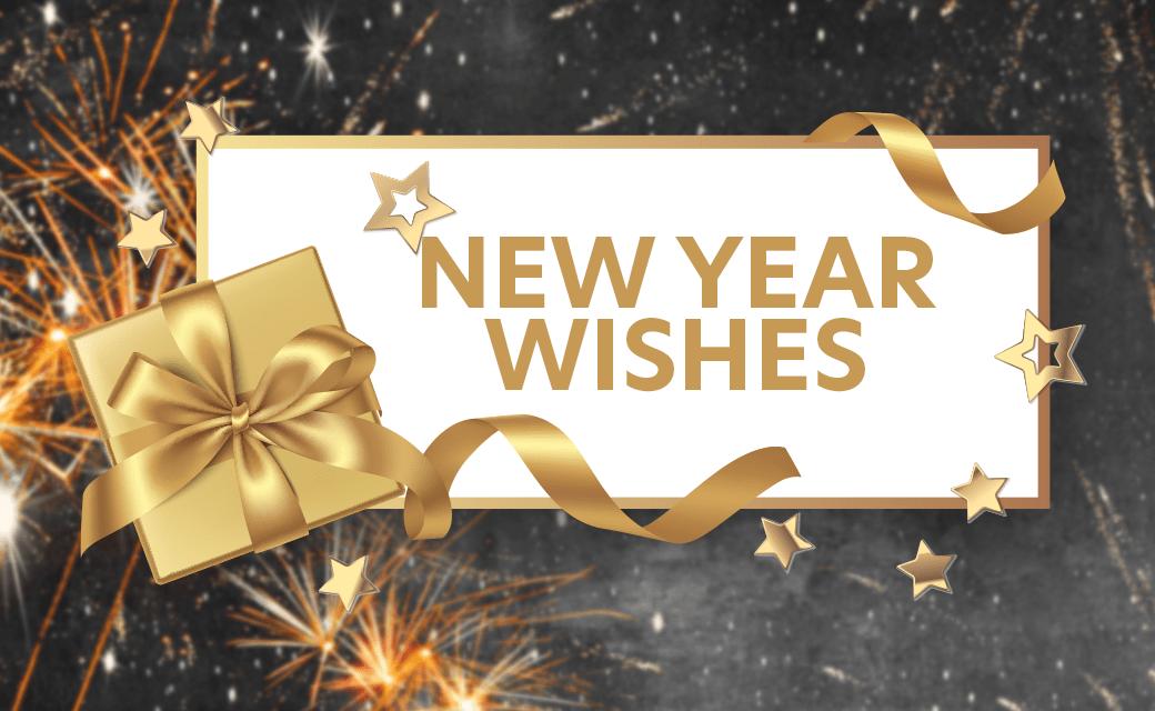 New Year Wishes : vos vœux et votre carte de vœux en vidéo