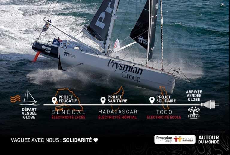 3eme place pour Prysmian Ocean Racing sur le Vendée Globe