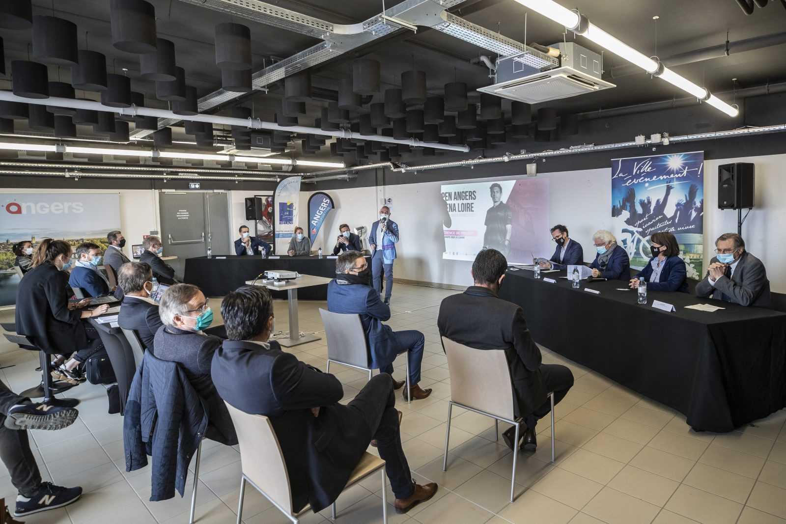 Top départ pour l'Open P2i Angers Arena Loire !