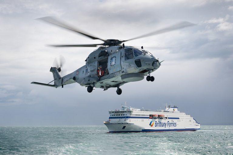 Brittany Ferries. Un exercice grandeur nature avec Rivacom