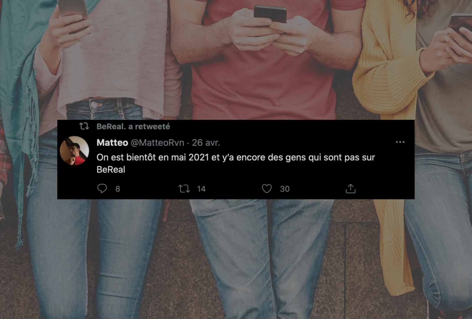 BeReal, le nouveau réseau social sans filtre et authentique