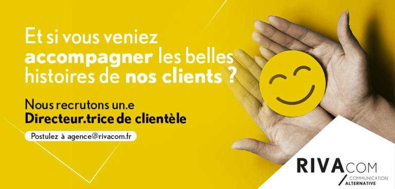 Recrutement Directeur.trice Clientèle Rivacom Rennes